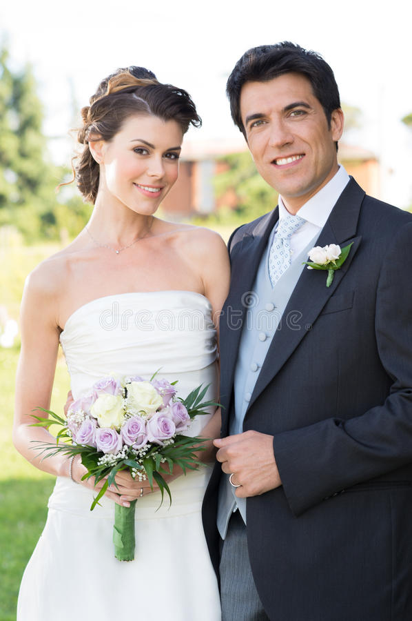Happy Married Couple stock photography