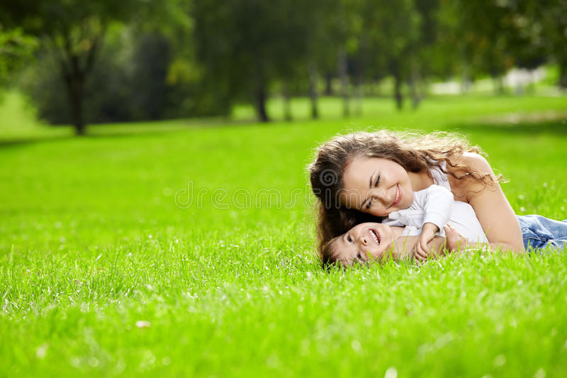 Download Happy mather stock photo. Image of affectionate, cheerful - 12792052