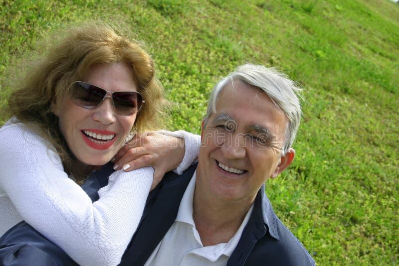 Happy mature couple. Senior couple