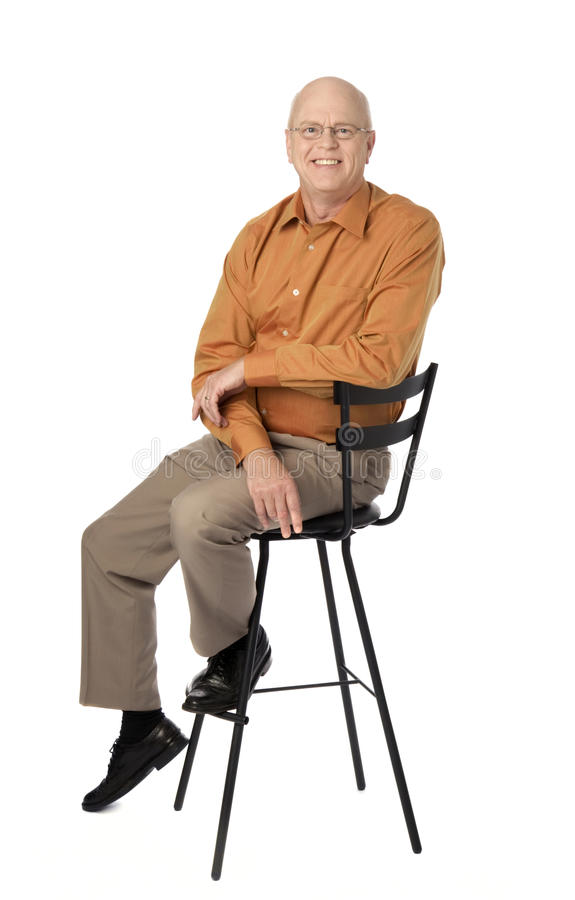 Free Happy Mature Man Stock Image - 15626461