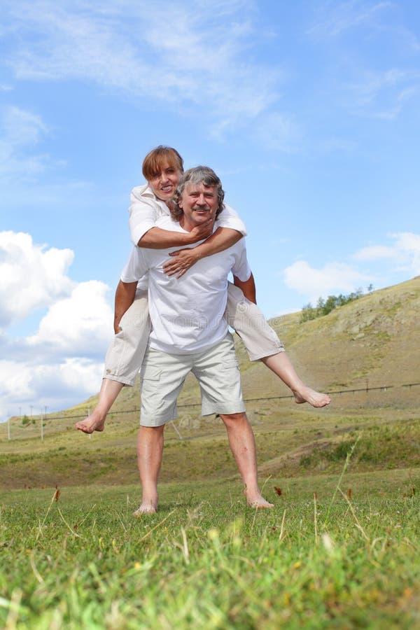 Happy Mature Pair Stock Photos