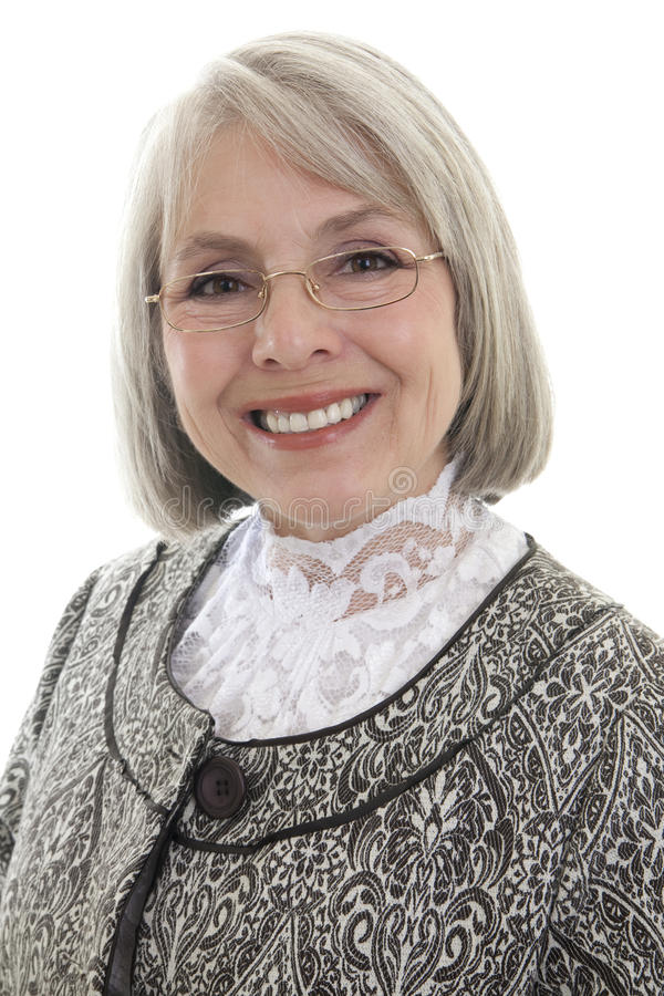 Happy Mature Woman Stock Image