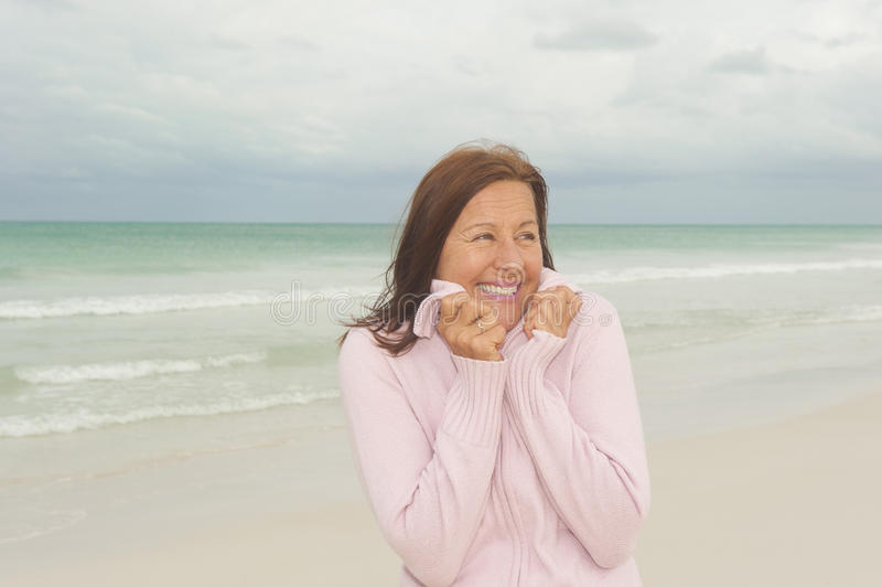 Download Happy Mature Woman Activd Retirement Stock Photo - Image: 28184530