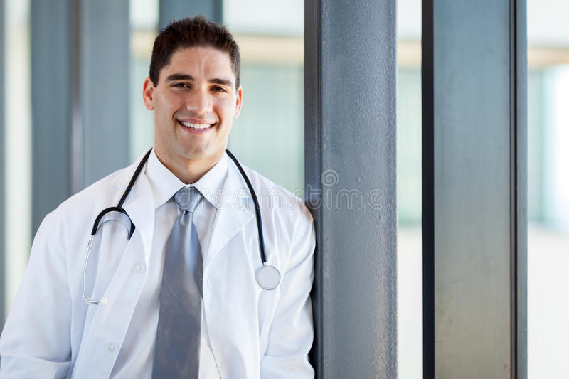 Download Happy medical doctor stock photo. Image of peaceful, portrait - 27010616