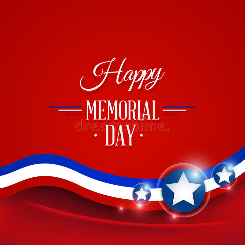 Download Happy Memorial day stock vector. Illustration of holiday - 40317150