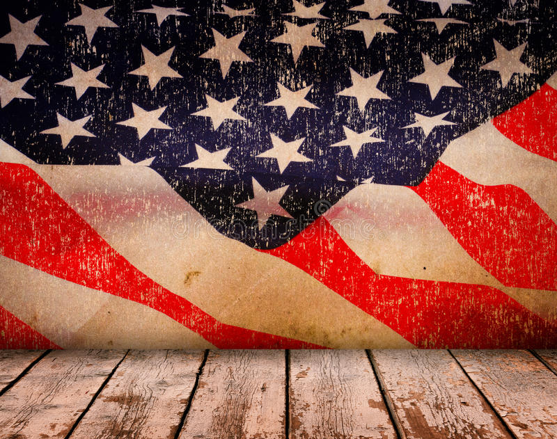 Happy Memorial Day. With texture, Stars Stripes and flag stock photo