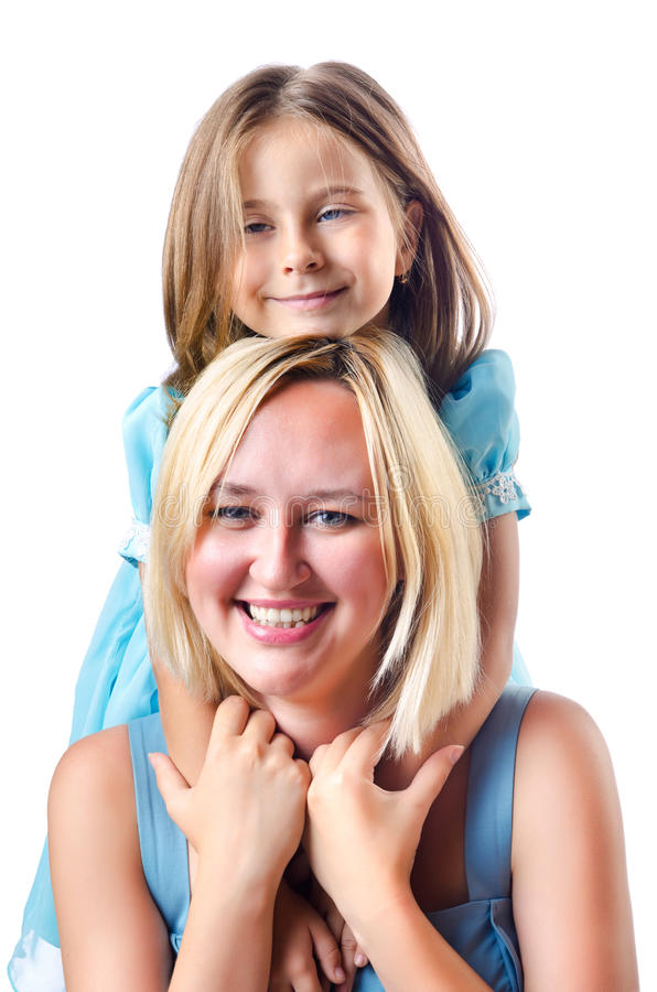 Download Happy mom and daughte stock image. Image of family, parenting - 27908227