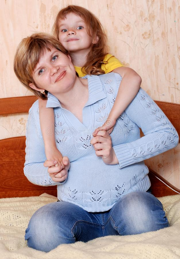 Download Happy mom and daughter stock photo. Image of happy, proximity - 19489584