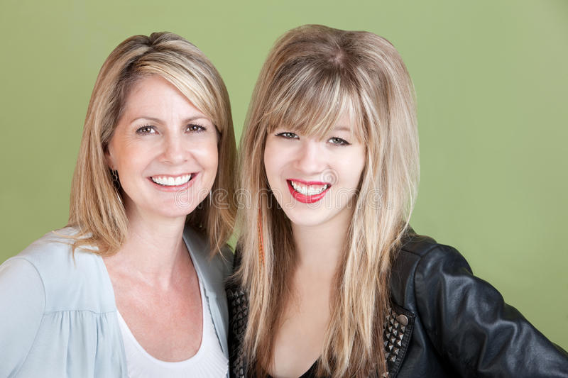 Download Happy Mom and Daughter stock photo. Image of affection - 22448034