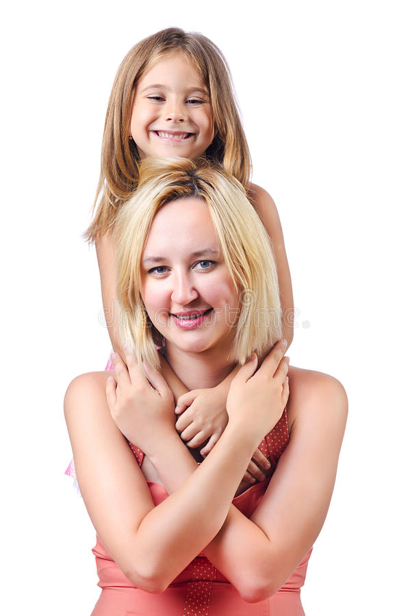 Download Happy Mom And Daughter Royalty Free Stock Image - Image: 26480186