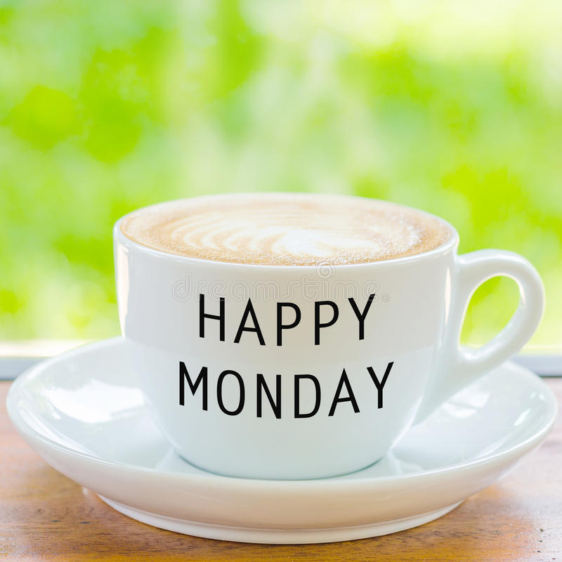 Happy monday on coffee cup stock image image of mocha 73937871 download happy monday on coffee cup stock image image of mocha 73937871 voltagebd Gallery