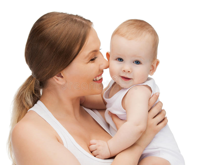 Download Happy Mother With Adorable Baby Stock Photo - Image: 30336356