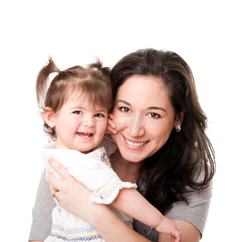 Free Happy Mother Baby Daughter Family Royalty Free Stock Image - 19343166