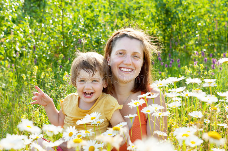 Download Happy mother with child stock image. Image of outside - 26489551