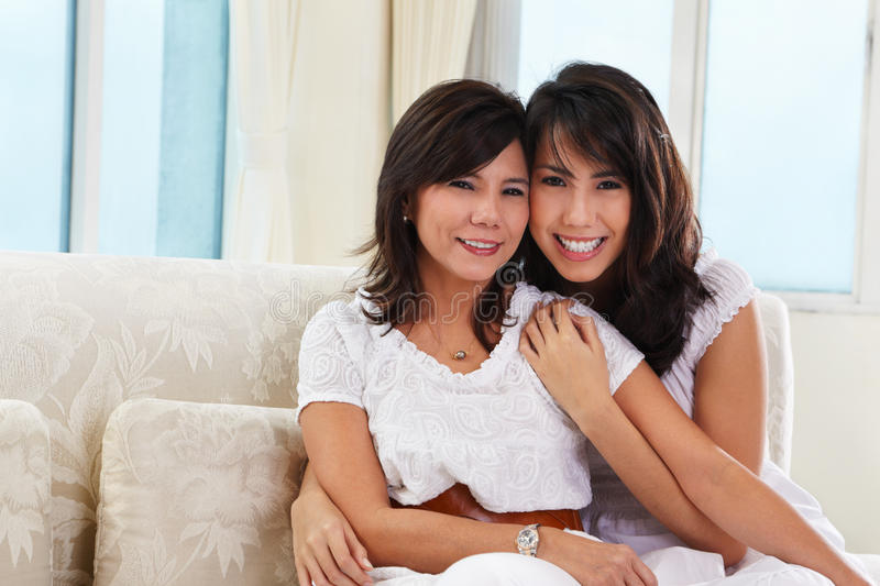 Download Happy mother and daughter stock photo. Image of female - 16932860