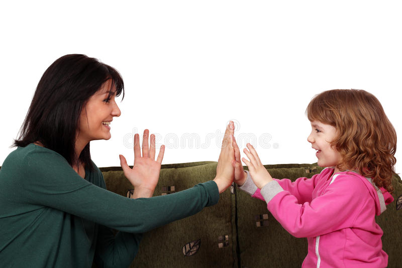 Download Happy Mother And Daughter Stock Photography - Image: 24292132
