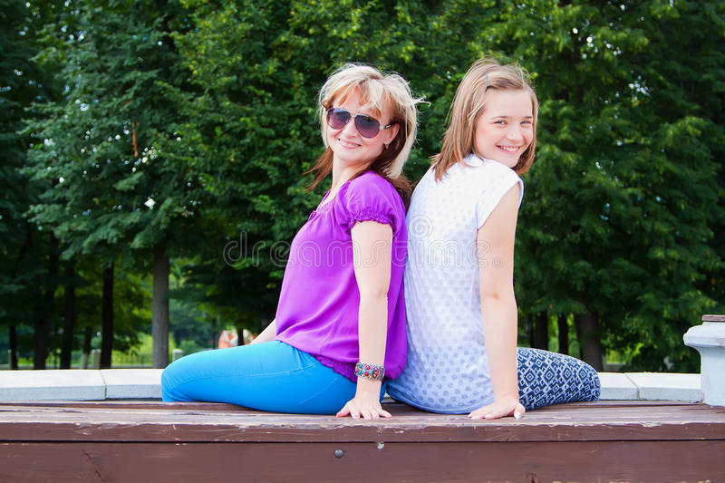 Download Happy mother and daughter stock photo. Image of cuddle - 26217936