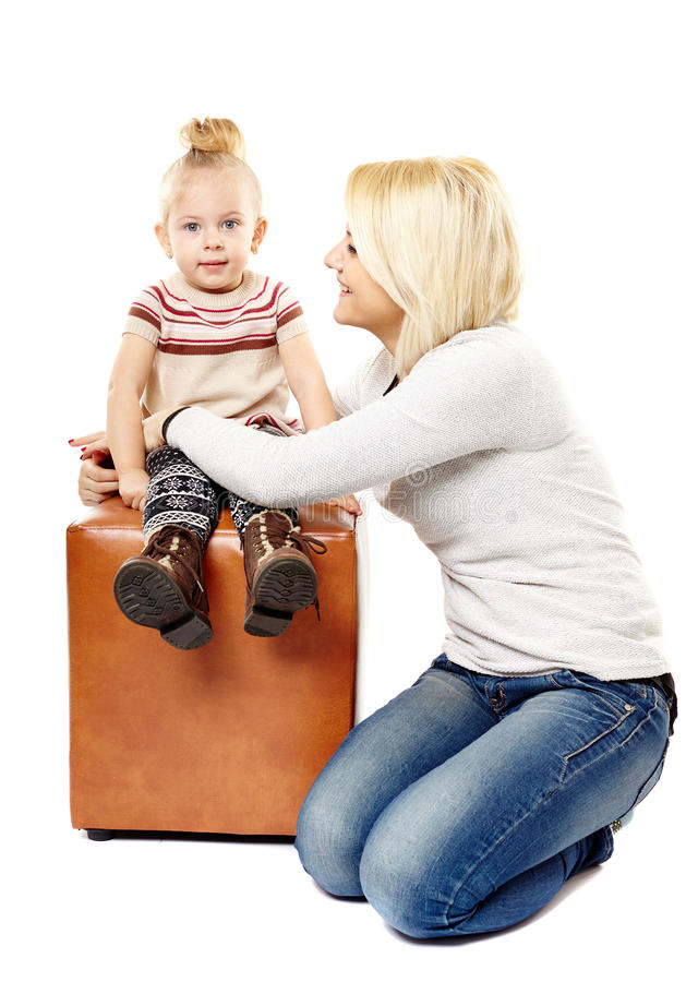 Download Happy mother and daughter stock photo. Image of cute - 38424712