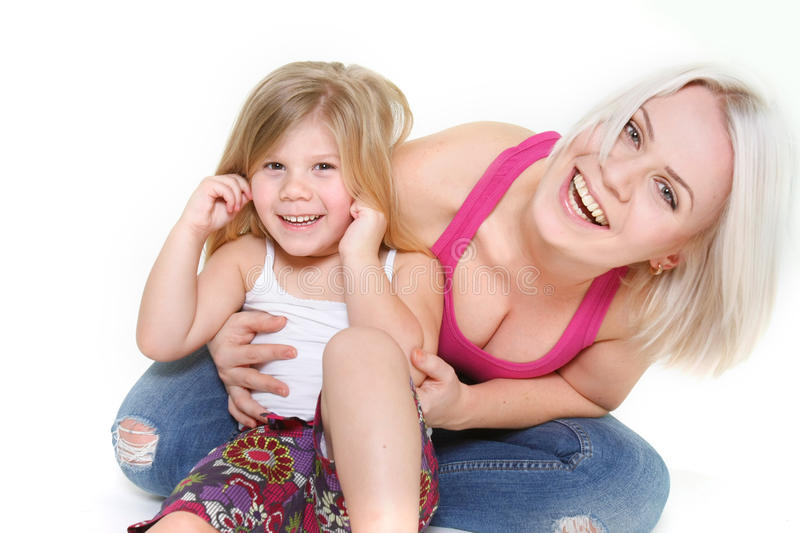 Download Happy Mother And Dauther Royalty Free Stock Image - Image: 13515266