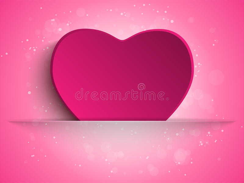 Happy Mother Day Heart Background vector illustration