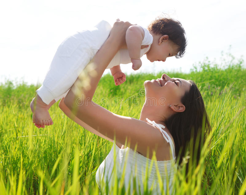 Download Happy Mother And Her Little Daughter Stock Image - Image: 28872705