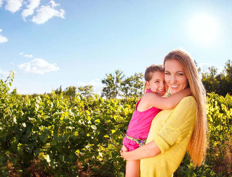 Download Happy Mother And Her Little Daughter Stock Image - Image: 38289207