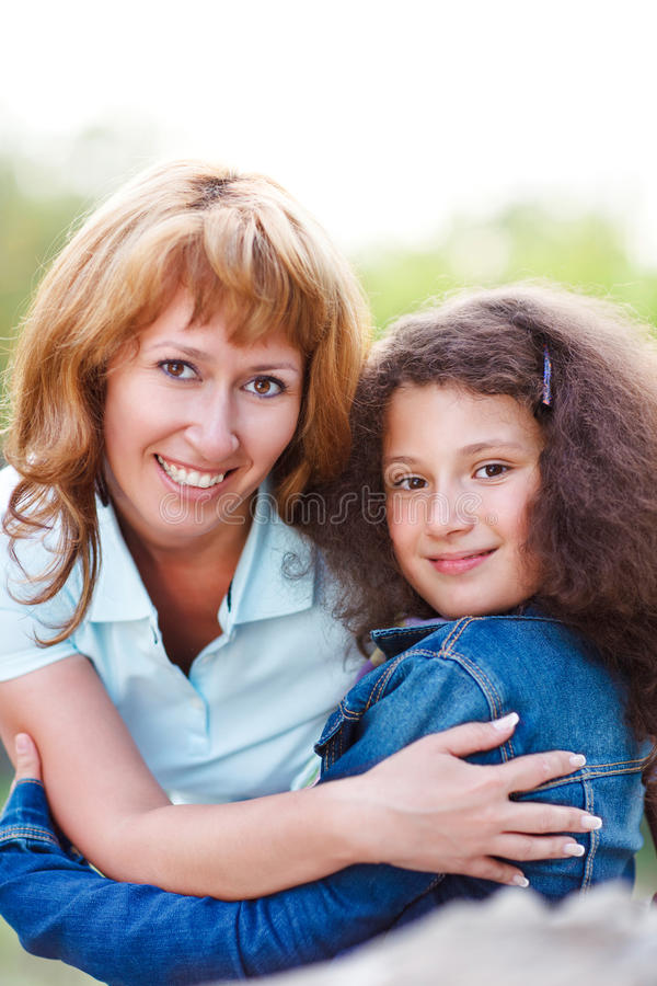 Download Happy Mother And Her Little Daughter Stock Image - Image: 31501431