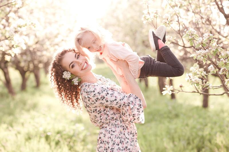 Woman with baby royalty free stock image