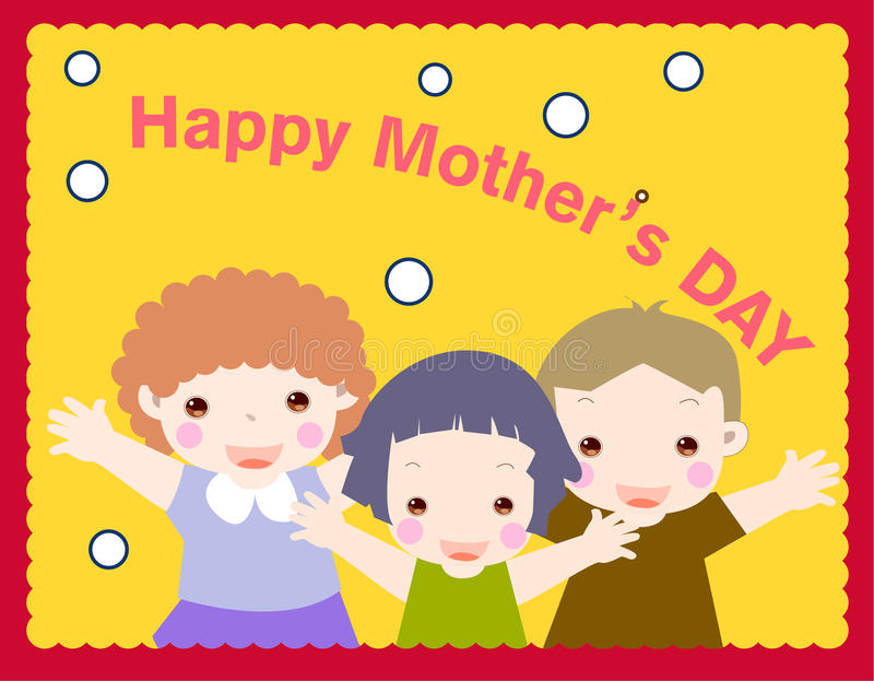 Download Happy mother's day stock vector. Image of greeting, celebration - 11269242