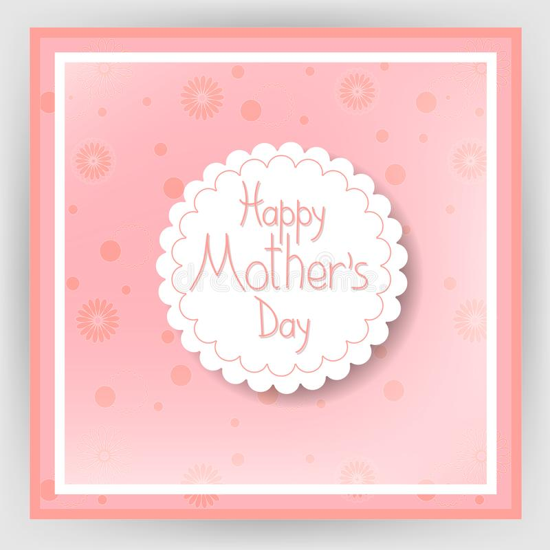 Happy mother`s day 18 stock illustration