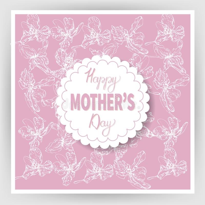 Happy mother`s day 13 vector illustration