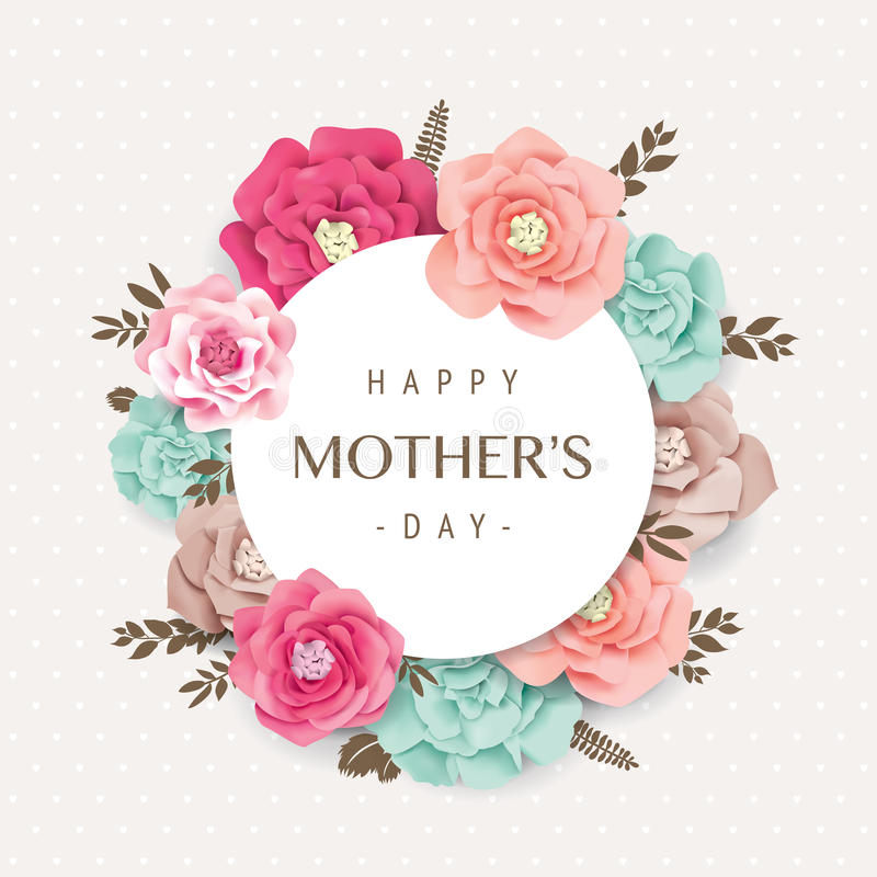 Free Happy Mother`s Day Royalty Free Stock Photo - 86629765