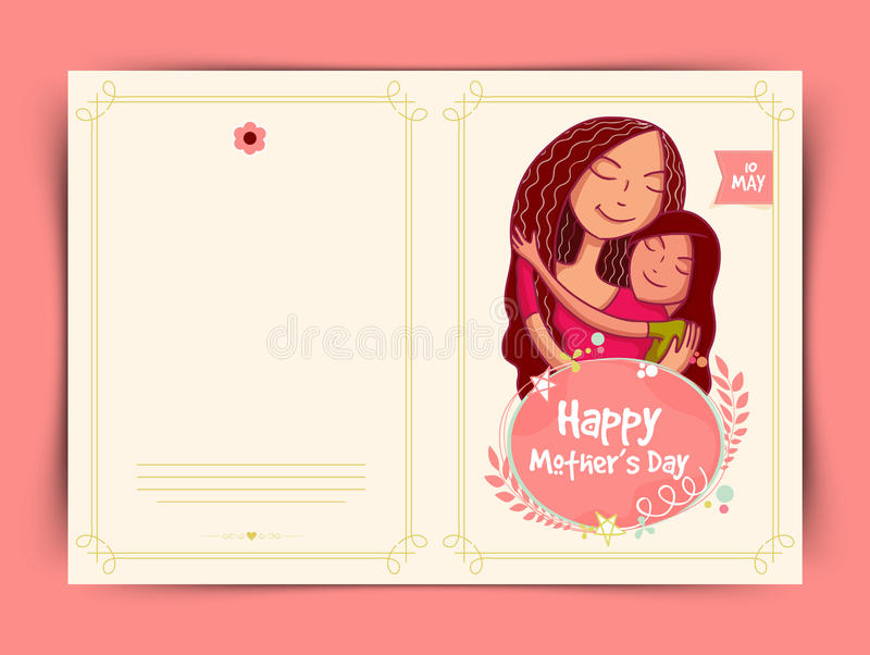 Happy mothers day celebration greeting card design stock download happy mothers day celebration greeting card design stock illustration illustration of card m4hsunfo
