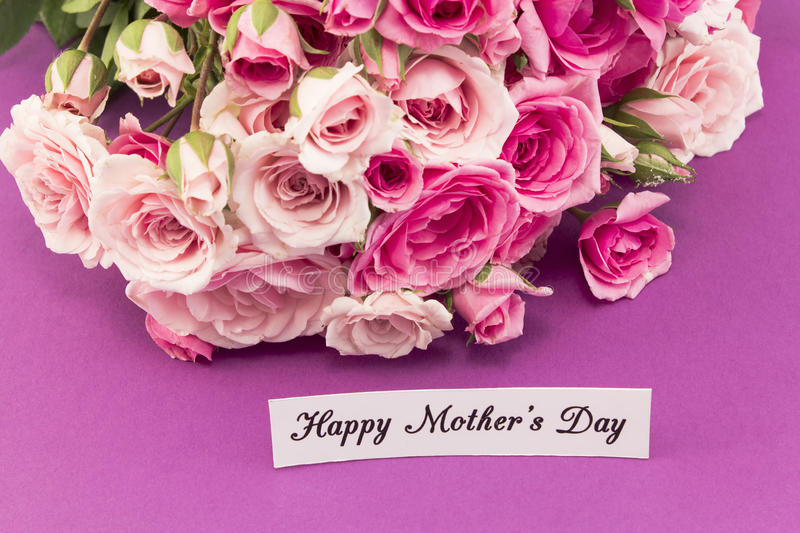 Happy Mother`s Day, Greeting Card royalty free stock photography