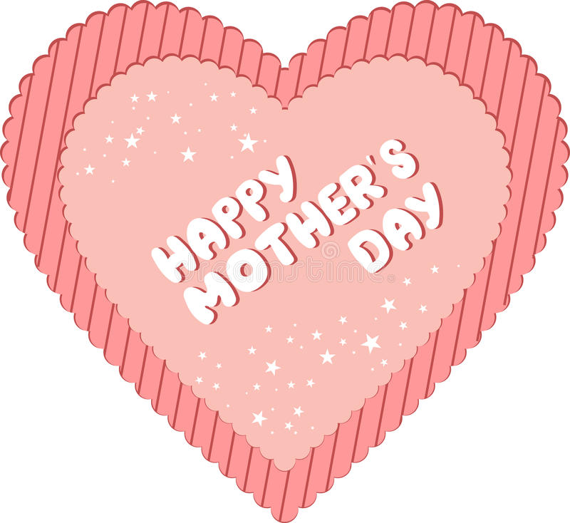 Download Happy Mother's Day Heart Stock Images - Image: 12773154
