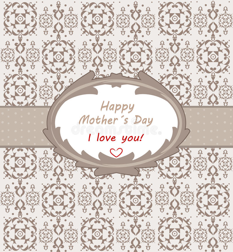 Download Happy mother´s day stock illustration. Image of thankful - 40191064