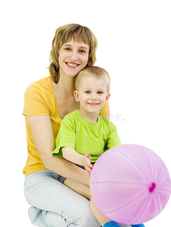 Download Happy mother and son stock photo. Image of hugs, woman - 14770612