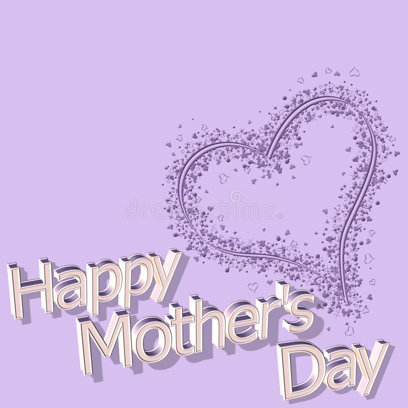 Free Happy Mothers Day 14th March Stock Images - 12797174