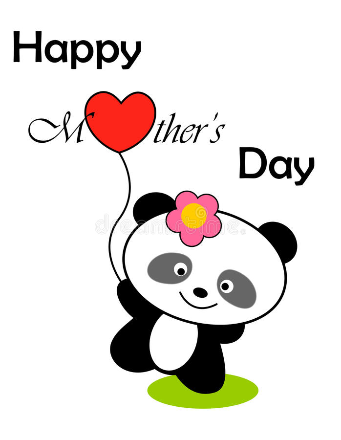 Download Happy mothers day stock illustration. Illustration of brown - 16901151