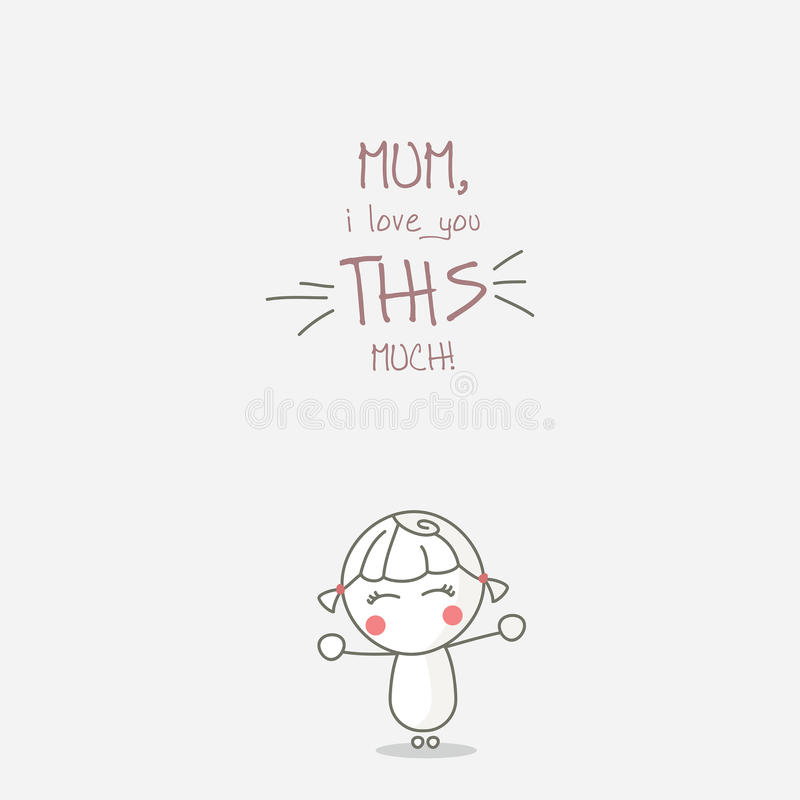 Download Happy Mothers day stock vector. Illustration of motherhood - 22596448
