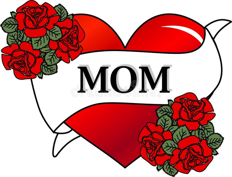 Download Happy mothers day stock illustration. Image of graphics - 23528894