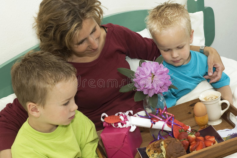 Download Happy Mothers Day stock photo. Image of celebrating, lazy - 2743476