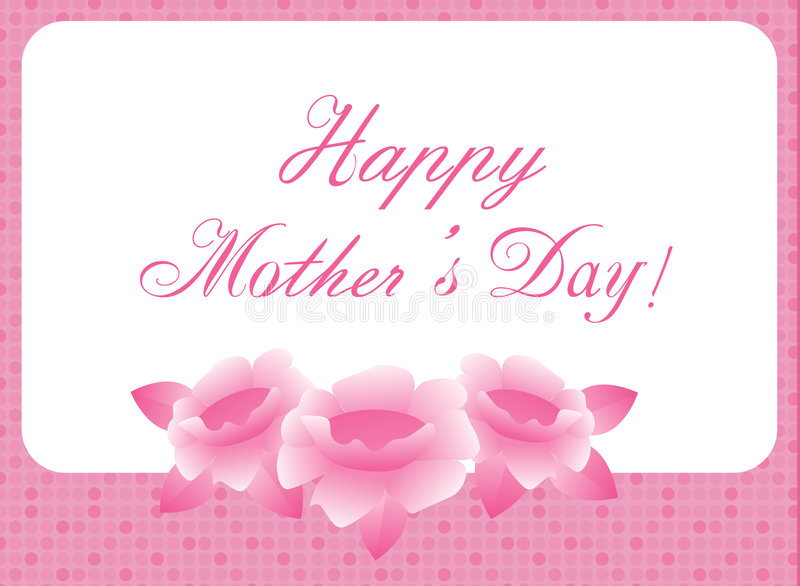 Download Happy mothers day stock illustration. Image of giving - 8043559