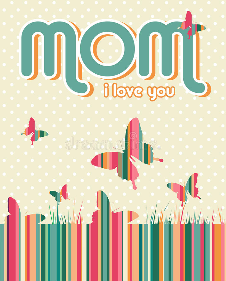 Download Happy Mothers Day Background Stock Vector - Image: 24642580