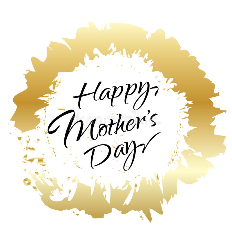 Download Happy Mothers Day stock vector. Image of card, design - 70969518