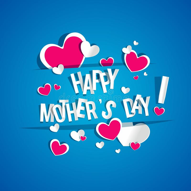 Free Happy Mothers Day Card Royalty Free Stock Photography - 36918627