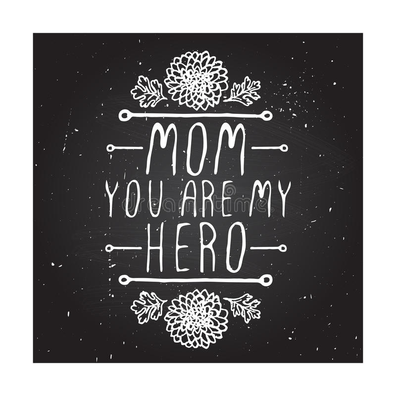 Free Happy Mothers Day Card Royalty Free Stock Photography - 53497247