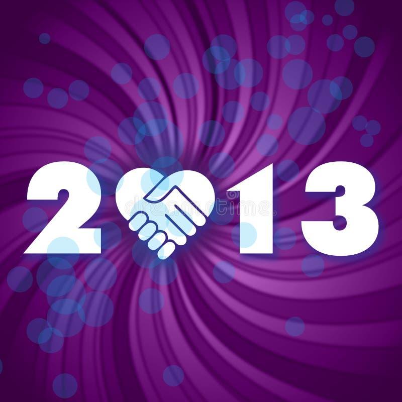 Happy New 2013 Year Stock Image
