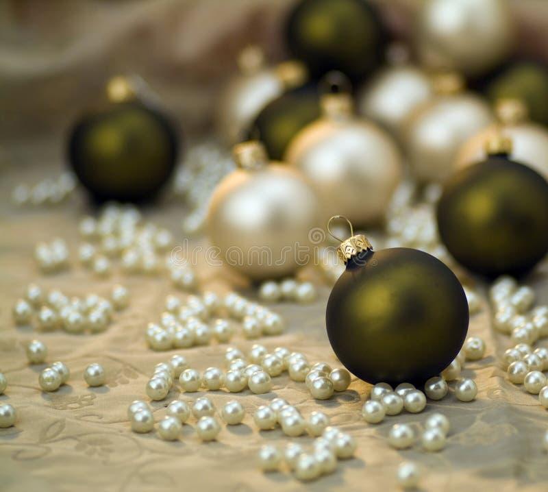 Happy new year. Illustration balls stock photo