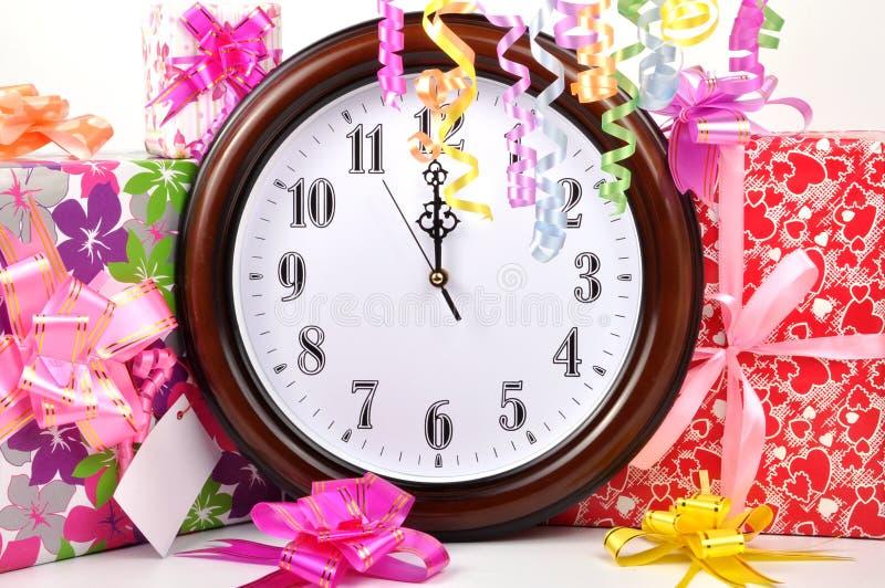 Happy new year. Celebration wallpaper stock photos